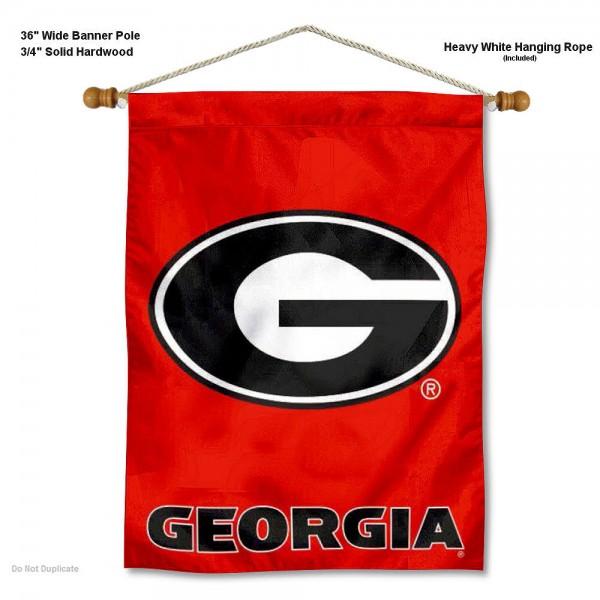 Georgia Bulldogs Logo Wall Hanging