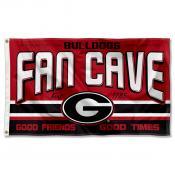 Georgia Bulldogs Man Cave Dorm Room 3x5 Banner Flag