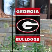 Georgia Bulldogs Panel Garden Flag