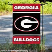 Georgia Bulldogs Panel Garden Flag