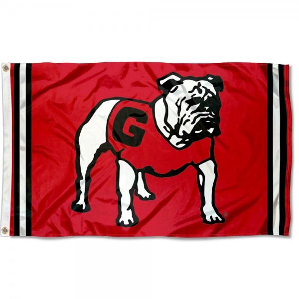 Georgia Bulldogs Retro Vintage 3x5 Feet Banner Flag