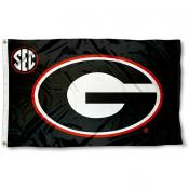 Georgia Bulldogs SEC Flag