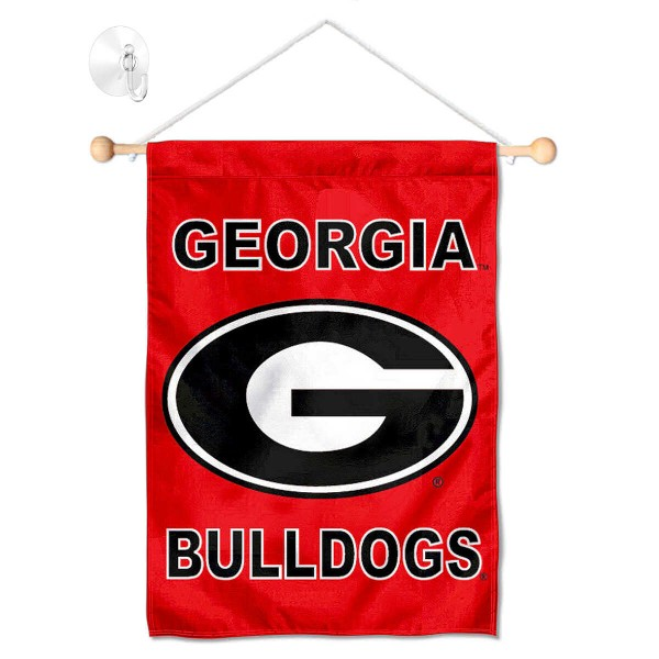 Georgia Bulldogs Small Wall and Window Banner
