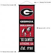 Georgia Bulldogs Wall Banner and Door Scroll