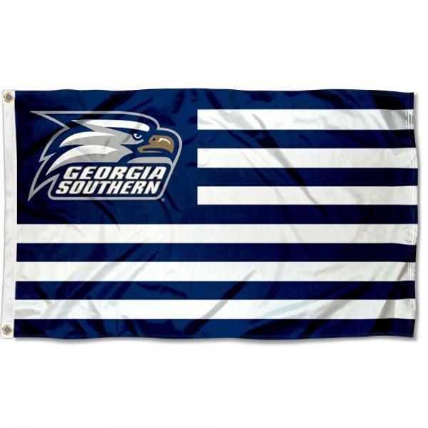 Georgia Southern American Nation Flag
