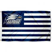 Georgia Southern American Nation Flag