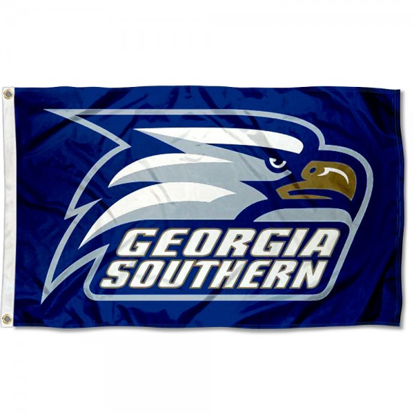 Georgia Southern Blue Outdoor Flag