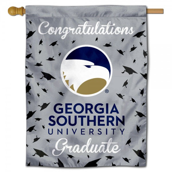 Georgia Southern Graduation Banner