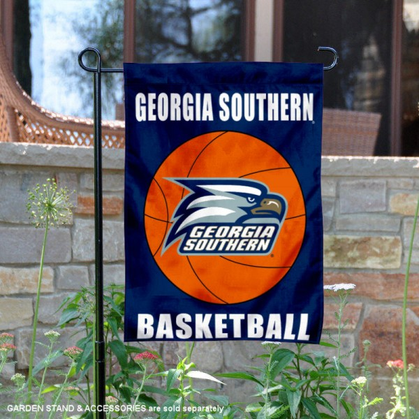 Georgia Southern University Basketball Garden Flag