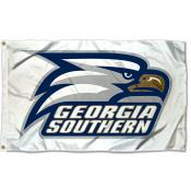 Georgia Southern White Outdoor Flag