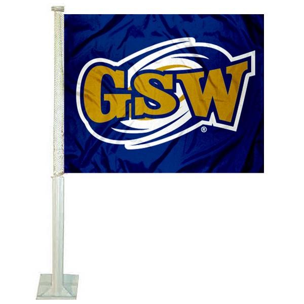 Georgia Southwestern State Hurricanes Car Flag