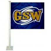 Georgia Southwestern State Hurricanes Car Flag