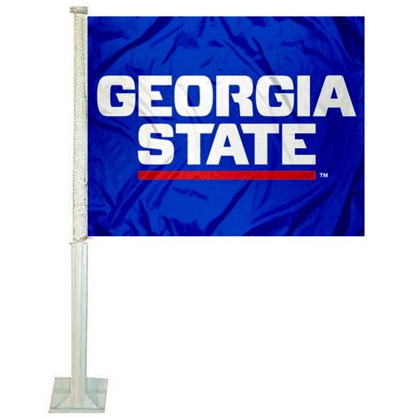 Georgia State Panthers Car Flag
