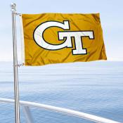 Georgia Tech Boat Flag