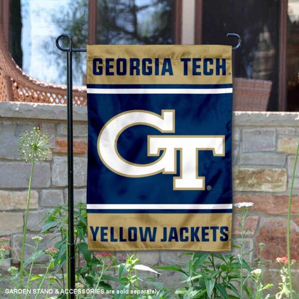 Georgia Tech Garden Flag