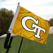 Georgia Tech Golf Cart Flag