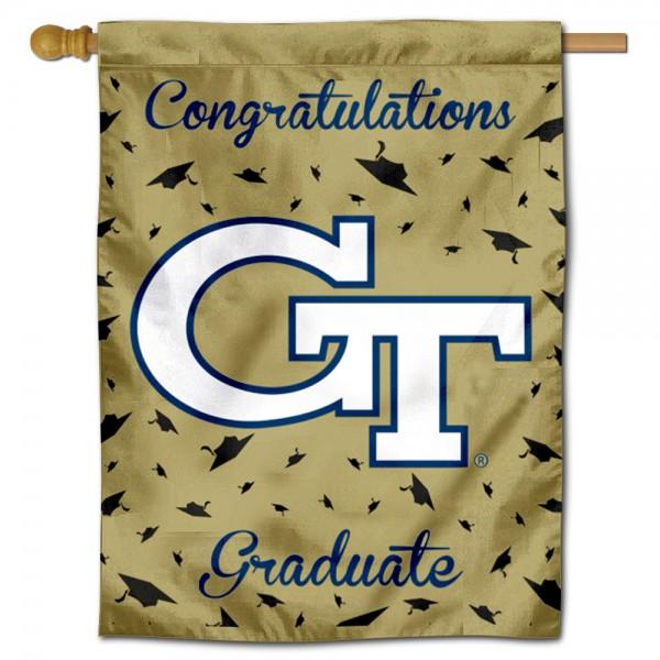 Georgia Tech Graduation Banner