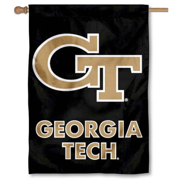 Georgia Tech House Flag your Georgia Tech House Flag flag banner M28R8ReD