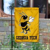 Georgia Tech Yellow Double Sided Garden Flag