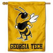Georgia Tech Yellow House Flag