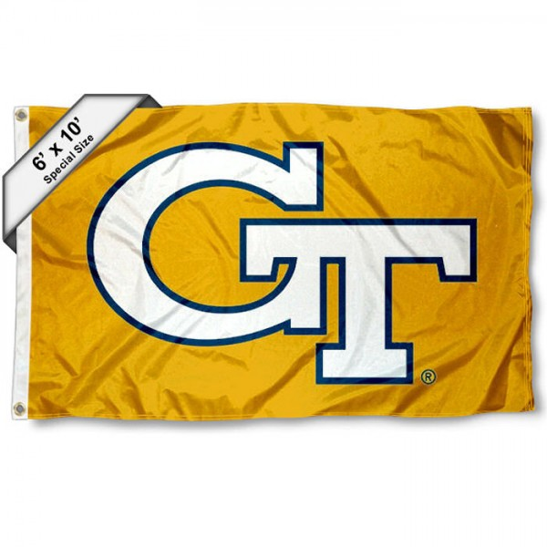 Georgia Tech Yellow Jackets 6x10 Foot Flag