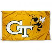 Georgia Tech Yellow Jackets Flag
