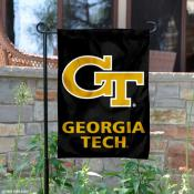 Georgia Tech Yellow Jackets Garden Flag
