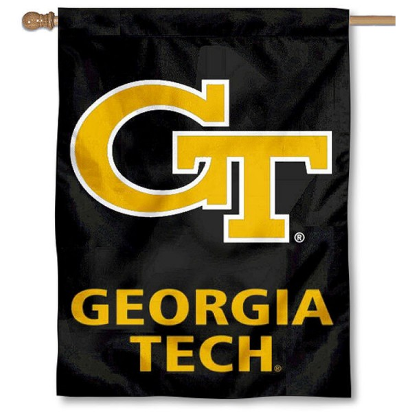 Georgia Tech Yellow Jackets House Flag