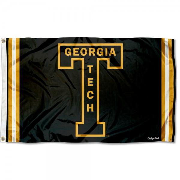 Georgia Tech Yellow Jackets Retro Vintage 3x5 Feet Banner Flag