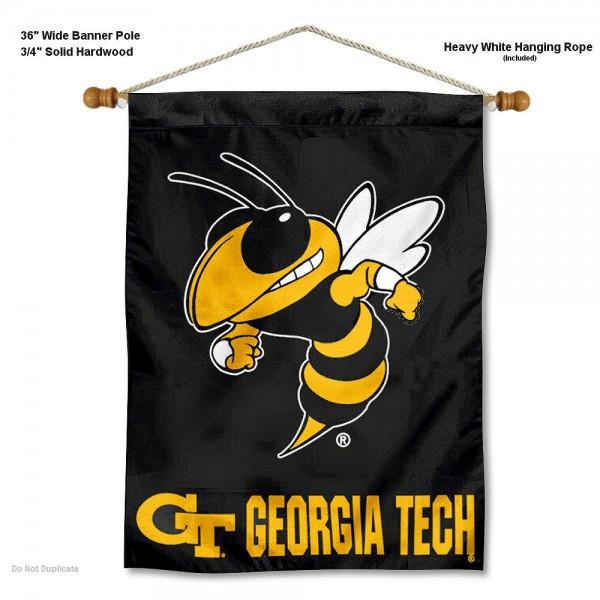 Georgia Tech Yellow Jackets Wall Hanging
