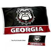 Georgia UGA Bulldogs Dawg Two Sided 3x5 Foot Flag