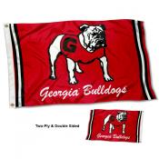 Georgia UGA Bulldogs Vintage Two Sided 3 by 5 Foot Flag