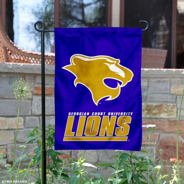 Georgian Court Lions Garden Flag