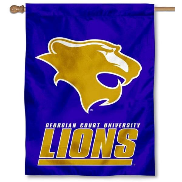 Georgian Court Lions House Flag