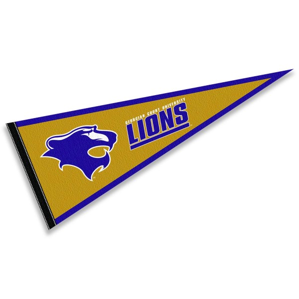 Georgian Court Lions Pennant