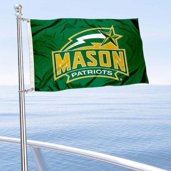 GMU Patriots Boat Nautical Flag