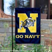 Go Navy Garden Flag