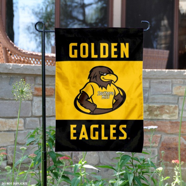 Golden Eagles Garden Flag