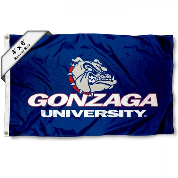 Gonzaga Bulldogs 4'x6' Flag