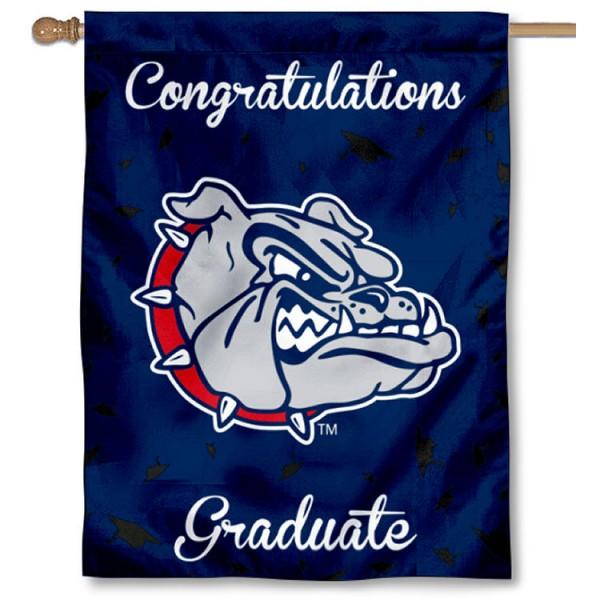 Gonzaga Bulldogs Graduation Banner