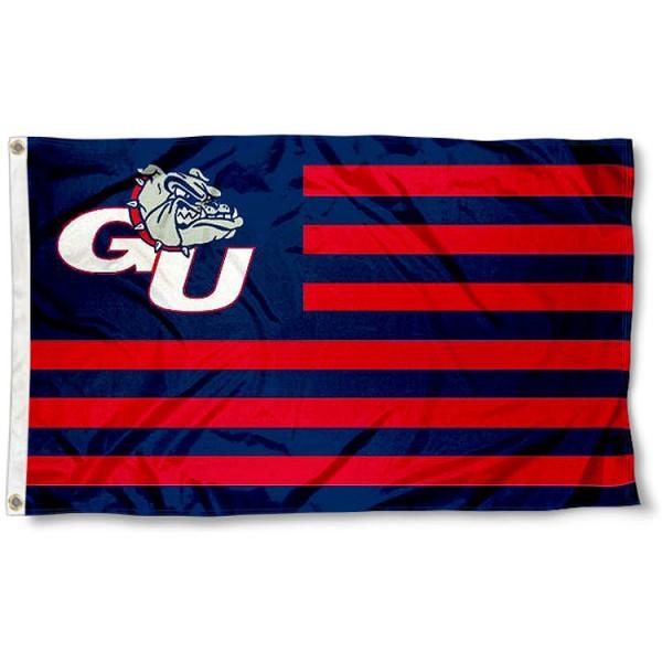 Gonzaga Bulldogs Nation Flag