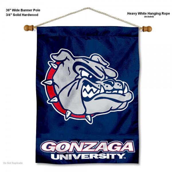 Gonzaga Bulldogs Wall Hanging