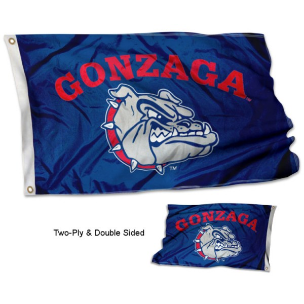 Gonzaga University Bulldogs Flag - Stadium