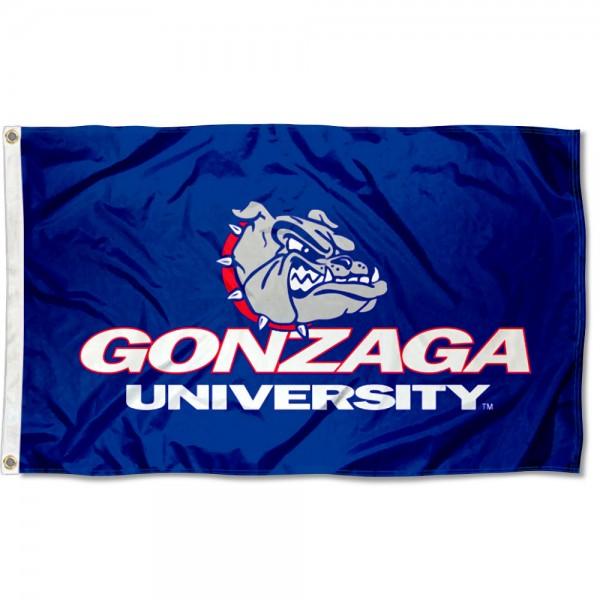 Gonzaga University Grommet Flag