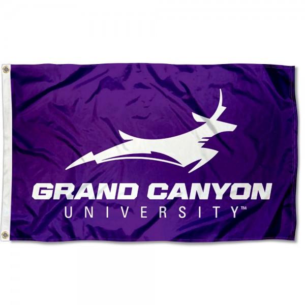 Grand Canyon University Wordmark Logo Flag