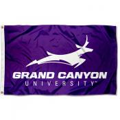 Grand Canyon University Wordmark Logo Flag
