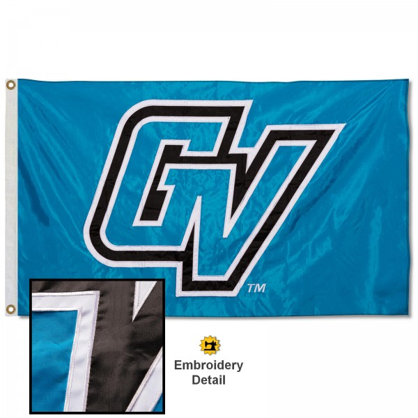 Grand Valley State Lakers Appliqued Nylon Flag