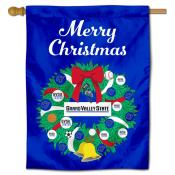Grand Valley State Lakers Christmas Holiday House Flag