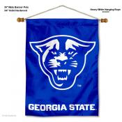 GSU Panthers Banner with Pole