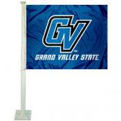 GVSU Lakers Car Flag